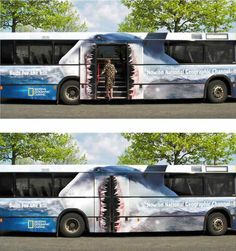 Would you board this bus? #sharks #jawsome