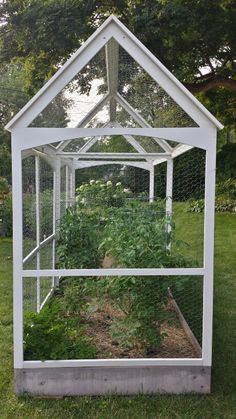 Squirrel proof garden enclosure, designed by Kristine Fisher