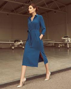 Dresses For Work, Photoshoot, Shirt Dress, Shirts, News, Fashion, Moda, Shirtdress, Photo Shoot