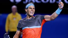 Rafael Nadal beat rival Roger Federer in straight sets Friday to reach the Australian Open final. Australian Open, Rafael Nadal, Roger Federer, Al Final, Tennis Tournaments, French Open, To Reach, Wimbledon, Sport Sport