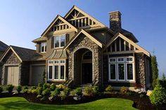 I love pretty houses!