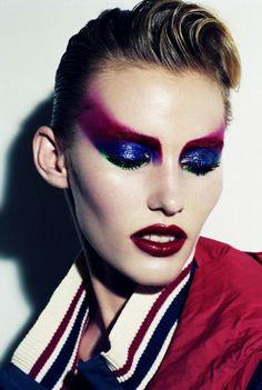 #Make #up  #beauty Emily Baker