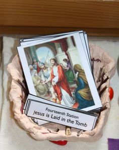 Montessori Cards: Stations of the Cross & Stations of the Resurrection religion, easter, station, cathol faith, montessori card, crosses, lent, cards