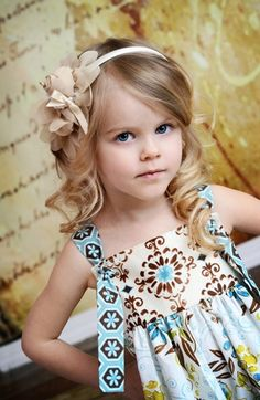 The Princess Rose Flower Headband in Beige by Charming Necessities