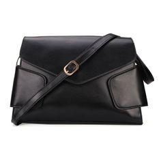 Women Patchwork PU Leather Cross Body bag