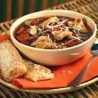 italian sausage soup w/ tortellini
