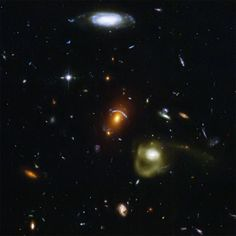 Hubble Galaxy Jumble: Like a photographer clicking random snapshots of a crowd of people, NASA's Hubble Space Telescope has taken a view of an eclectic mix of galaxies. In taking this picture, Hubble's Advanced Camera for Surveys was not looking at any particular target. From $7 Available in Square Format Only - See more at: http://www.skyimagelab.com/jumble-galaxies.html#sthash.XmcNP6ie.dpuf