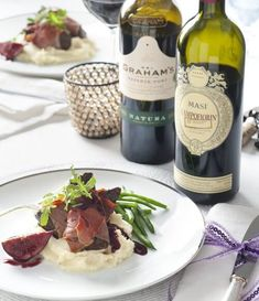 entrecotes met rodewijn/portjus, Catena Malbec G&G Fall Recipes, Healthy Recipes, Party Finger Foods, Food Club, Christmas Cooking, Dinner Menu, Soul Food, Graham, Food And Drink