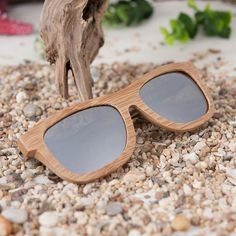 Polarized Square Wood Frame Sunglasses In Wooden Gift Box-Green,Blue,Yellow,Gray Wooden Gift Boxes, Wooden Gifts, Blue Yellow Grey, Wooden Sunglasses, Japanese Porcelain, Green Gifts, Handmade Design, Polarized Sunglasses, Natural Stones