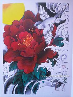 Japanese Flower Tattoo, Japanese Flowers, Japanese Art, Hand Tattoos For Guys, Love Tattoos, Body Art Tattoos, Acrylic Painting Flowers, Asian Tattoos, Japan Tattoo