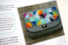 I'm in a Magazine:: Happy to be in Quilter's Connection! - Emmaline Bags: Sewing Patterns and Purse Supplies