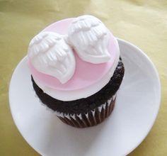 Angel Wings 3D Fondant Cupcake Topper