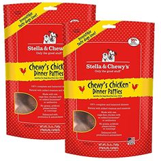 Stella & Chewy's Chicken Dog Food Dinner, 25-Ounce / 2 Pack --- You can read more reviews of the product by visiting the link on the image. (This is an affiliate link and I receive a commission for the sales)