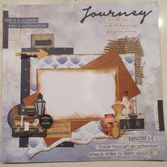 Heritage Scrapbook Pages, Travel Scrapbook Pages, Scrapbook Layout Sketches, Scrapbooking Layouts, Lay Outs, General Crafts, Project Life, Scrapbooks, One Pic