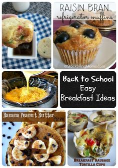 Back-to-School Easy Breakfast Ideas