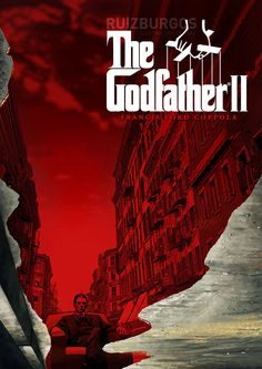 The Godfather: Part II by Ruiz Burgos - Home of the Alternative Movie Poster -AMP-