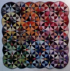 Winding Ways quilt by Alex Anderson