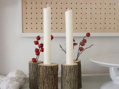 Forget expensive candle molds, learn to how use plumbing pieces to make budget-friendly wax tapers.