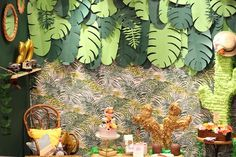 Tropical party - salon-creations-savoir-faire-2016-018-projet-diy what a great party idea