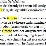prins Laurent logeerde in VS bij Jacques De Groote (Wereldbank/IMF) - zou hij daar iets geleerd hebben?