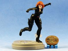 Amazon.com: A294 Cake Topper MARVEL SUPERHEROS Avengers Black Widow Action Figure Statue Model DIORAMA (Original from TheBestMoment @ Amazon): Toys & Games