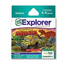 """LeapFrog Explorer Learning Game: Scholastic Magic School Bus Dinosaurs -  LeapFrog - Toys""""R""""Us"""
