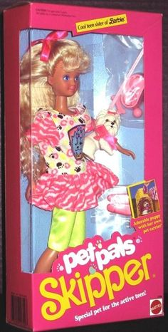 Barbie Pet Pals Skipper
