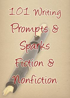 101 writing prompts and ideas if you're stuck with your #NaNoWriMo novel or writing project! #writingprompt #writingtips