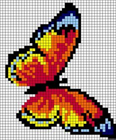 Thrilling Designing Your Own Cross Stitch Embroidery Patterns Ideas. Exhilarating Designing Your Own Cross Stitch Embroidery Patterns Ideas. Butterfly Cross Stitch, Cross Stitch Art, Cross Stitch Designs, Cross Stitching, Cross Stitch Embroidery, Embroidery Patterns, Cross Stitch Patterns, Alpha Patterns, Loom Patterns