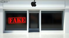 Apple Inc. Exploited By Fake Stores In China