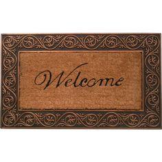 Found it at Wayfair - Welcome Doormat