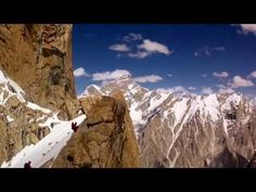 HD: Mammut 150 years - Trango Tower RC Helicopter / Drone Footage