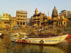 The Ghats,River Ganges,Varanasi,Uttar Pradesh,India