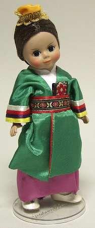 "Madame Alexander International-8"" Doll Korea - Boxed"
