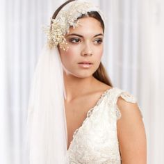 wedding veils and headpieces | Unique Wedding Veils and Headpieces Wedding Hair Inspiration | Fly ...