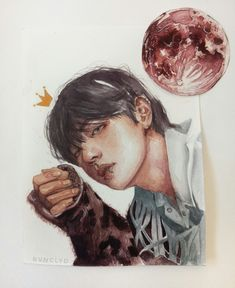 ㅡ did i lose myself or did i gain you? Taehyung Fanart, Bts Taehyung, Jimin Jungkook, Namjoon, Pop Kpop, Bts Drawings, Bts Chibi, Bts Fans, Kpop Fanart