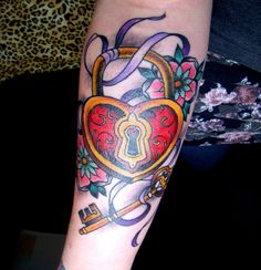 tattoo designs heart shaped lock | Heart Padlock and Key Tattoo by MissKellyLouise on deviantART
