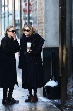 Mary Kate Ashley, Mary Kate Olsen, Elizabeth Olsen, Ashley Olsen Style, Olsen Twins Style, Looks Street Style, Looks Style, My Style, Curvy Style