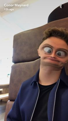 Snapchat Screenshot - Conor  Maynard (ConorPMaynard)