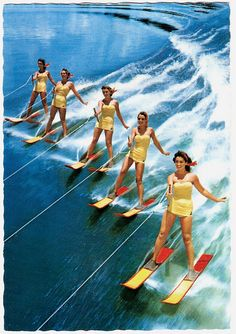 water skiing. . . Is it possible to look like this?