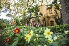 Pinewood Mansion, Bok Tower Gardens, photo courtesy Bok Tower