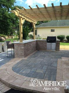 Pergolas provide sectional shade for hosting BBQ's this season! Click to view more.