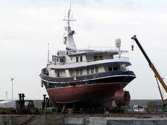 "Benetti's ""Mistral"" yacht, former ""Carmelo Noli"" tugboat"