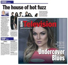 Serinda Swan covers the Toronto Sun's Television section. What's Paige's secret? Season Two?