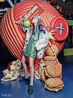 Vogue Korea (May 2014) ~ #Fashion #photography #editorial #fashionphotography #photoshoot #style #pose #model #colourful