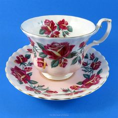 Royal Albert Lakeside Series Windermere Tea Cup and Saucer Set | Pottery & Glass, Pottery & China, China & Dinnerware | eBay!