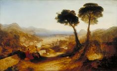 The Bay of Baiae, with Apollo and the Sibyl J. M. W. Turner 1823