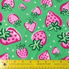 Swim Shop Strawberries Swim Fabric - Peek-a-Boo Pattern Shop
