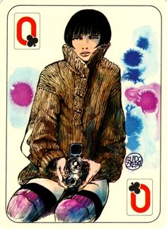 Louise Brooks is Valentina the Queen of Sensuality Manado, House Of Cards, Deck Of Cards, Printable Playing Cards, Cool Playing Cards, Louise Brooks, Everything And Nothing, Erotic Art, Illustrators