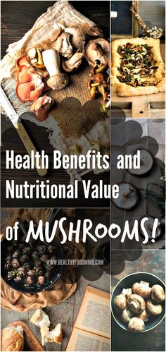 Of the 300 edible species, 10 are currently grown commercially. Use mushrooms to add distinct flavor and a range of nutritional and health benefits to some of...